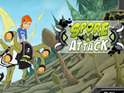 Ben 10 Spores Attack