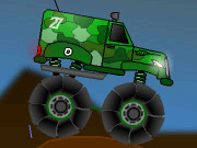 Military Monster Truck Icon