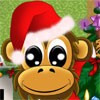 Christmas Monkey Icon