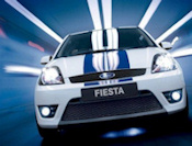 Ford Fiesta Racing utfordring-ikonet