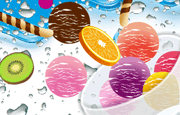 Fruit Ice Cream Icon