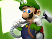 Luigis Mansion Simpan Mario